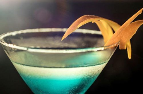 Cocktail Rezepte - Deep Blue Sea Martini
