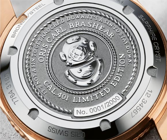 Oris Carl Brasher Uhr