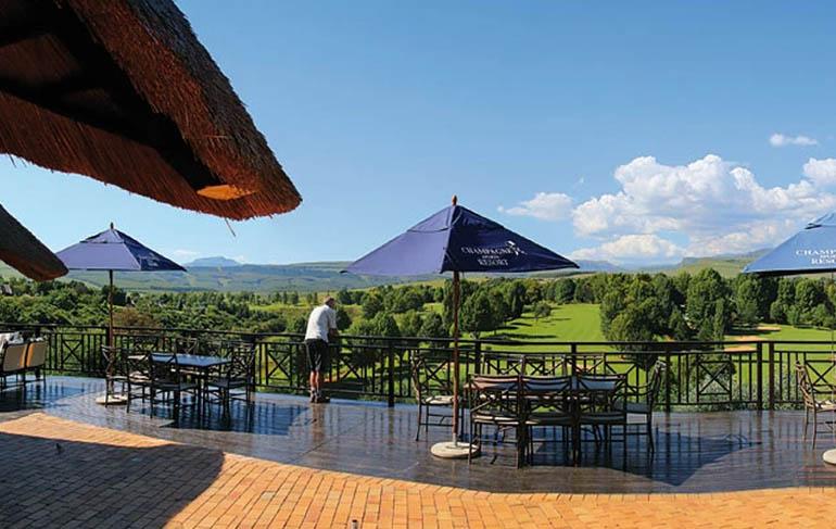 Champagne Sports Resort - Golfen Südafrika