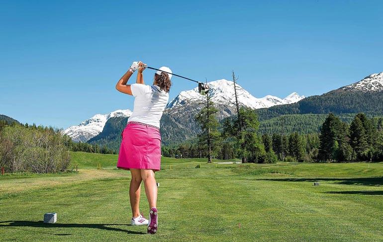 Engadiner Golf Club - Golfen in der Schweiz