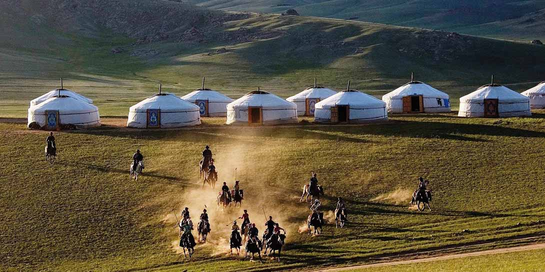 Mongolei - Talbiun Lodge