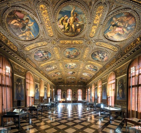 Biblioteca Nazionale Marciana in Venedig