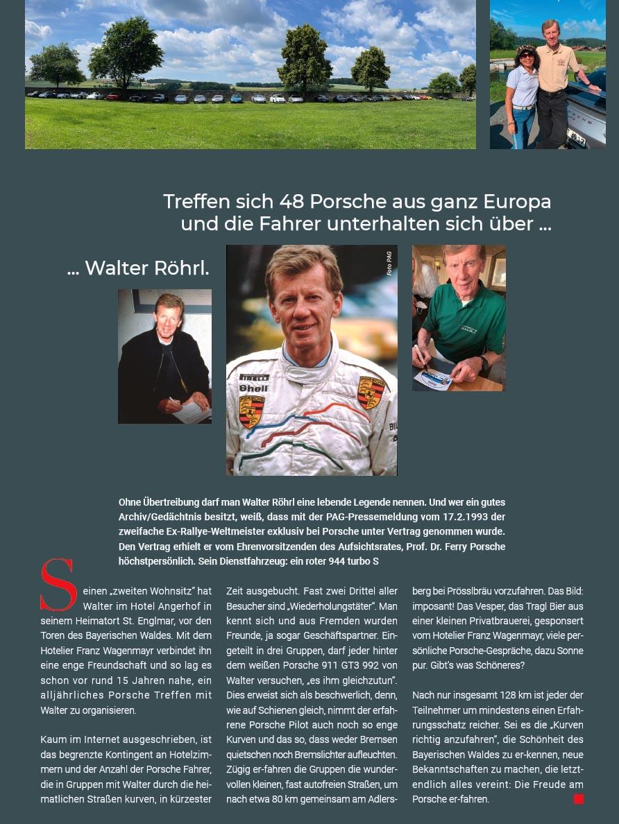 Angerhof - Walter Röhrl Porsche